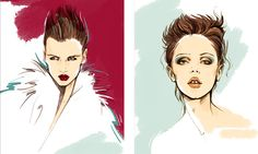 Fashion Illustration by Alena Lavdovskaya