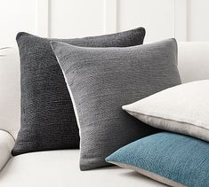 Keely Textured Pillow Cover #potterybarn