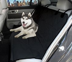PetsPlus Dog Car Seat Cover for Cars, Trucks and SUV, Heavy Duty Protects Back Seat from Small and Big Dogs, Water Resistant Luxury Design ** More info could be found at the image url. (This is an affiliate link and I receive a commission for the sales)