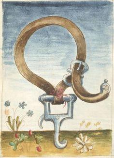 Bellifortis VerfasserKyeser, Conradus  ErschienenElsaß, [um 1460] Ms. germ. qu. 15  Folio 151r