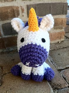Buy L'il Unicorn pattern - AmigurumiPatterns.net