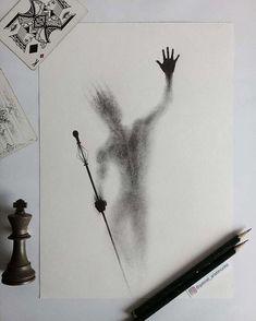 Kunst von gabriel_aristimunho Tag your friends below below Creepy Drawings, Dark Art Drawings, Creepy Art, Pencil Art Drawings, Cool Drawings, Drawing Faces, Tattoo Drawings, Tattoos, Space Drawings