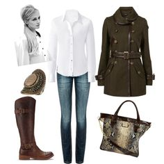 Love the jacket and boots...and that hairstyle is cute!