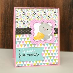 Doodlebug Design Inc Blog: Kitten Smitten Collection: A Litter of Card Ideas from Christine