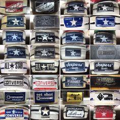 Blog再開 | American Vintage Converse Vintage, Vintage Shoes, Vintage Outfits, Vintage Clothing, Converse Star, Clothing Labels, Vintage Tags, Fasion, Stars