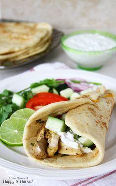 recipe: greek chicken souvlaki wrap recipe [22]