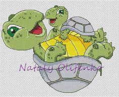 Turtles Playing 1/3