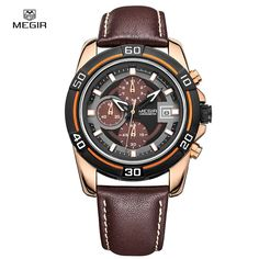 Men's Watches Military Brands Limited Edition Relogio Running Quartz masculino leather wristwatch Chronograph