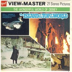 Disney viewmaster The Island at the Top of the World