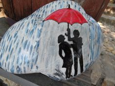 together in the rain - love it!