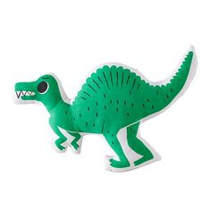 Retro Reptile Throw Pillow (Green)  | The Land of Nod