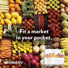 Market in pocket - Shaklee Vitalizer
