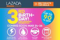 Manikang Hapon: Lazada 3rd Year Anniversary