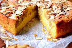 Pear and Almond Cake - This is a cake so difficult to mess up that you're almost guaranteed a delicious, moist and delightful sponge, chock full of pears. Easy Almond Cake Recipe, Pear And Almond Cake, Almond Cakes, Cake Recipes Uk, Baking Recipes, Dessert Recipes, Desserts, Baking Ideas, Pear Recipes Easy