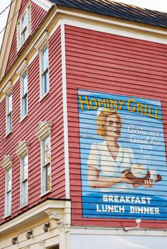 Hominy Grill in Downtown Charleston is known for their shrimp and grits and also their pimento cheese! A must try restaurant for good Southern cooking!