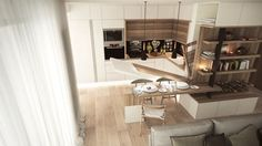 Cozy apartment living room design warm small 1 bedroom apartment design by studio cozy apartment living .