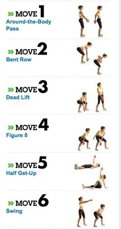 Witness the Fitness: kettlebell workout