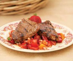 Grilled Lamb Chops Recipe With Strawberry Salsa - Food - GRIT Magazine