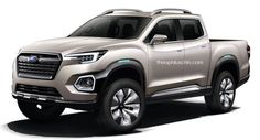 If Renault and Mercedes can do their own versions of the Nissan Navara, why not Subaru too?