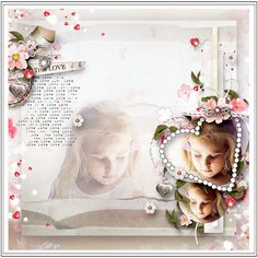 """Kit """"What is Love"""" by Sekada https://www.digitalscrapbookingstudio.com/personal-use/kits/what-is-love-full-kit/ Template """"Hugs' Kisses"""" by Cornelia Photo by Mily photography"""