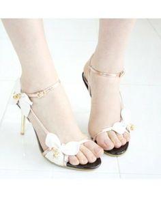 En forme de papillon ouverts Sandales Toe chaussures pour femmes. Mavogue ·  Wedding shoes ... b9f9b7878aac