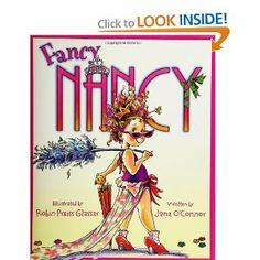 Meet Nancy, who believes that more is ALWAYS better when it comes to being fancy. From the top of her tiara down to her sparkly studded shoes, Nancy is determined to teach her family a thing or two about being fancy.    How Nancy transforms her parents and little sister for one enchanted evening makes for a story that is funny and warm -- with or without the frills.