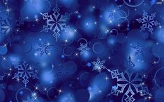 New christmas wrapping paper background blue at temasistemi.net