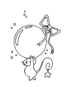 Sliekje digi Stamps: Christmas mouse