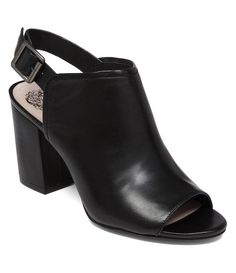 have these in brown and would love the black! > Black:Vince Camuto Brianny Peep-Toe Shooties