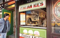 new york style italian ice | New York Portraits: September 2008