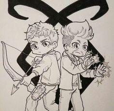 Shadowhunters Alex&Magnus♡