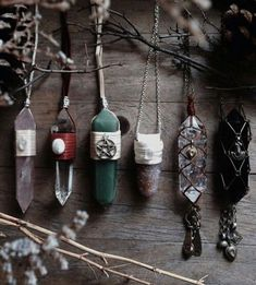 jewels necklace gems gem stones boho hippie natural art witch witchcraft moon child