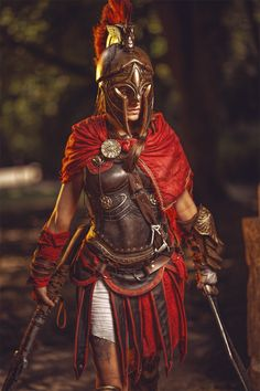 Assassin's Creed: Kassandra Cosplay - by MsSkunkPhotography by Andreas Krupa Assassins Creed Costume, Assassins Creed Art, Assassins Creed Odyssey, Cosplay Armor, Cosplay Costumes, Cosplay Ideas, Anime Cosplay, Female Assassin, Renaissance Fair Costume