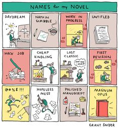 Names for my novel... #novel #names #writer #author #writing #amwriting #indiewriter #writerslife #WritingCommunity Writing Memes, Writing Tips, Creating A Bullet Journal, Nobel Prize In Literature, Summer Reading Lists, Magnum Opus, Magic Book, The 5th Of November, Cool Cartoons