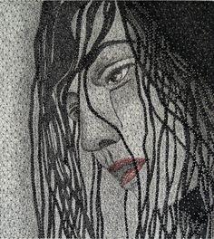 string art portrait