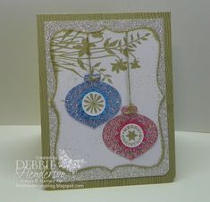 Debbie's Designs: Tinted Glimmer Paper & Tutorial!