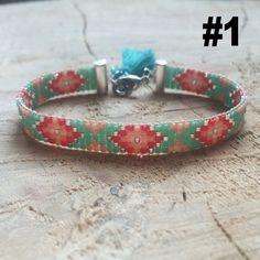 Métier à tisser Bracelet de perles Bracelet par TheBohoMinimalist