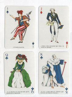 Jeu de cartes - Révolution française