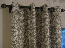 i'm doing these as soon as possible. easy, inexpensive, NO SEW curtains!