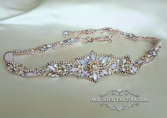 Rose gold bridal belt, blush wedding, rose gold, rose gold belt, couture belt, rose gold wedding belt, bridal belt, rose pink belt