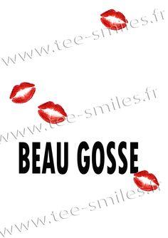 Carte postale BEAU GOSSE : Cartes par teesmiles