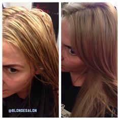 Selfie! Before and after my magical base break  #selfie #blonde #gorgeous #extensions #boy #girl #hair #hairstylist #haircut #lahairstylist #colorist #stylist #hairpost #like4like #blondie #extensions #love #highlights #blondtourage #salon #behindthechair #comeinwereblonde