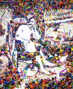 Vik Muniz | Don Quixote in his Study, After William Lake Price (2004) | Available for Sale | Artsy