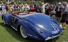 1947 Delahaye 135 MS Chapron Cabriolet - rvl
