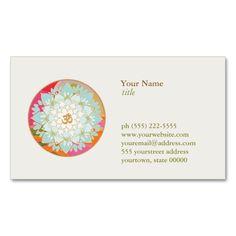 2156 best yoga business cards images on pinterest business card lotus flower om symbol yoga meditation teacher business card colourmoves