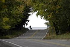 This road follows the Lake Michigan shoreline between North Muskegon and Whitehall. It is known for its tree canopy and scenic beauty.