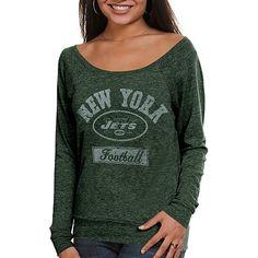 NY Jets women's long sleeve top. #UltimateTailgate #Fanatics