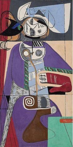 Le Corbusier, Taureau VII on ArtStack #le-corbusier #art