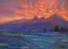 "Don Sahli ""Tetons Aglow"" 24 x 30 Oil on Board Southwest Art, List Of Artists, Impressionism Art, Fine Art Gallery, Still Life, Oil, Sculpture, Abstract, Board"