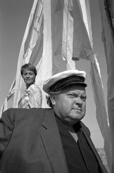 Nicolas Tikhomiroff French, b. Orson welles and Jeanne Moreau. War Photography, Documentary Photography, Thomas Man, Jeanne Moreau, Jean Luc Godard, Orson Welles, Photographer Portfolio, Celebrity Portraits, Magnum Photos